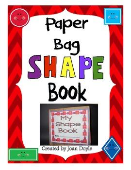My Paper Bag Shape Book