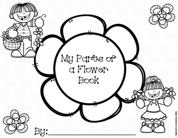 My Parts of a Flower Book