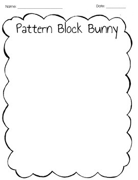 My Pattern Block Bunny
