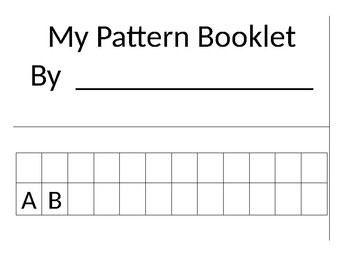 My Pattern Booklet