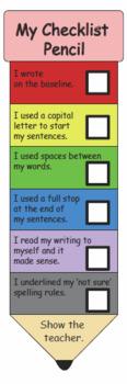 My Pencil Checklist