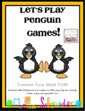 My Penguin Game! A Common Core Card Game for Place Value