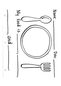 My Perfect Meal- Writing and Describing