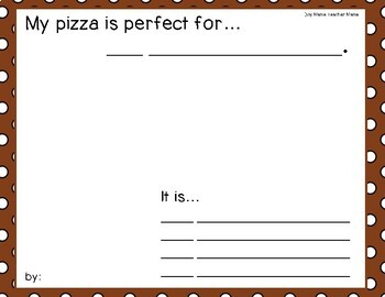 My Perfect Pizza: A Fraction Activity