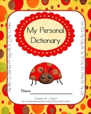 My Personal Dictionary (Ladybug Theme) for Students