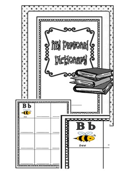 My Personal Dictionary-Portable Wordwall-In ENGLISH! Three Level Bundle!