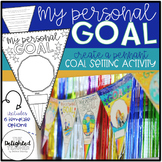 My Personal Goal Pennant {Goal Setting Activity}