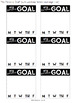 My Personal Goal {Post-It Note Template}