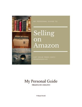 My Personal Guide to Selling on Amazon