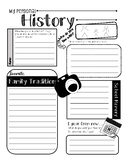My Personal History - Introduction Activity/Get to Know Your Students