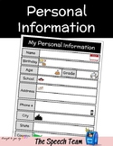 My Personal Information
