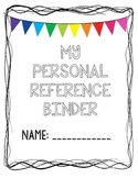 My Personal Reference Binder