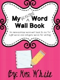 My Personal Word Wall Book
