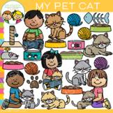 My Pet Cat Clip Art