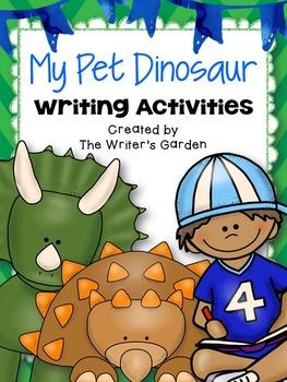 My Pet Dinosaur: Writing Activities