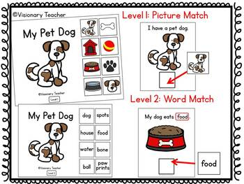 My Pet Dog - Interactive Books - SET OF 2