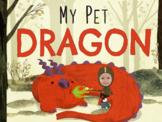 My Pet Dragon Papercraft Bookmark