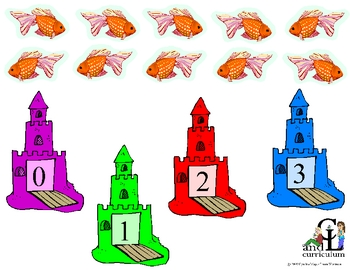 My Pet Goldfish Counting Activity