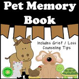 Pet Grief and Loss Memory Book