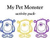 My Pet Monster Activity Pack