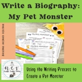 "My Pet Monster:  Writing a ""Biography"" about My Pet Monster"