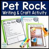 Pet Rock Craft and Writing Activity: A Fun Rocks & Mineral