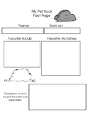 My Pet Rock: Soils and Rocks Free resource