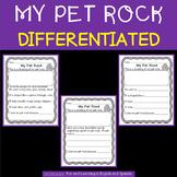 My Pet Rock - differentiated - FREEBIE