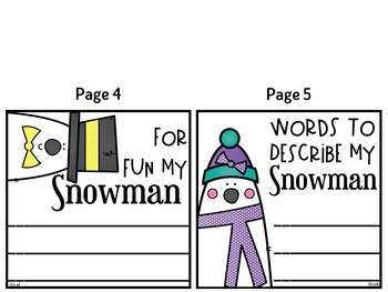 My Pet Snowman Bag Book ~ Perfect for Winter!