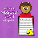 My Pet Werewolf Creative Writing Craft