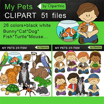 My Pets Clip Art