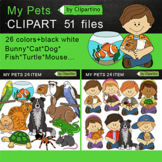 Pets Clip Art- My Pets Clip Art Bundle