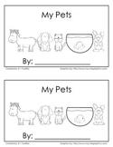 """My Pets"" - Emergent Reader"