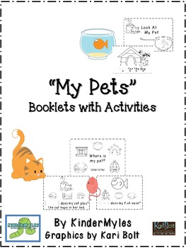 My Pets Readers with Activities