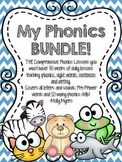 My Phonics {BUNDLE} - Comprehensive Phonics Curriculum - 30 weeks!