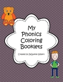 My Phonics Coloring Booklets