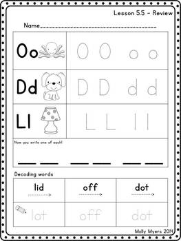 My Phonics - Comprehensive Phonics Curriculum - 18 weeks!