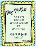 My Pi Ku: A Pi Day Writing Challenge for K-12