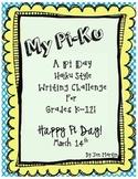 My Pi Ku: A Pi Day Writing Challenge for K-12
