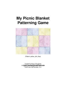 My Picnic Blanket Patterning Game