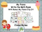 My Picnic Write the Math Room