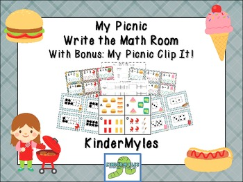 My Picnic Write the Math Room