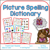 {My Picture Spelling Dictionary} Writing Resource for Prim