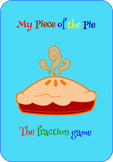 My Piece of a the Pie (a fraction game)