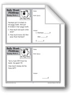 My Piggy Bank (Grade 2 Daily Word Problems-Week 4)