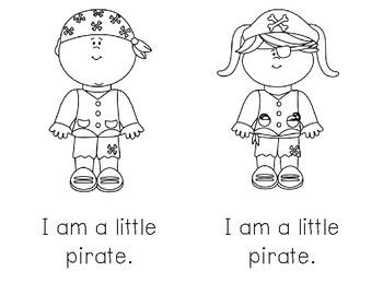 My Pirate Emergent Reader