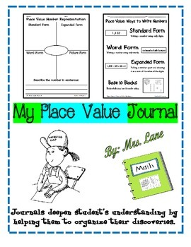 My Place Value Journal