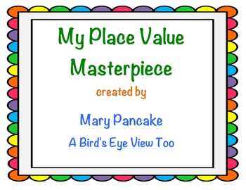Place Value Math and Art Activity