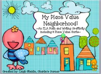 My Place Value Neighborhood!  A Math & Writing Craftivity