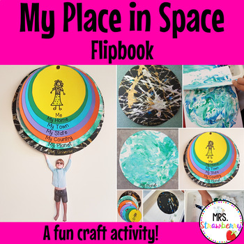 My Place in Space Flipbook: Me on the Map